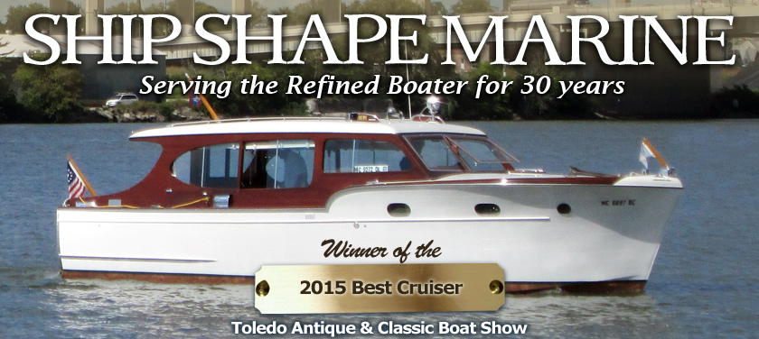 Ship Shape Marine Inc Port Clinton Ohio 2015 Award