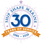 Ship Shape Marine 30 Year Crest